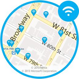 SkypeWiFiにアクセス