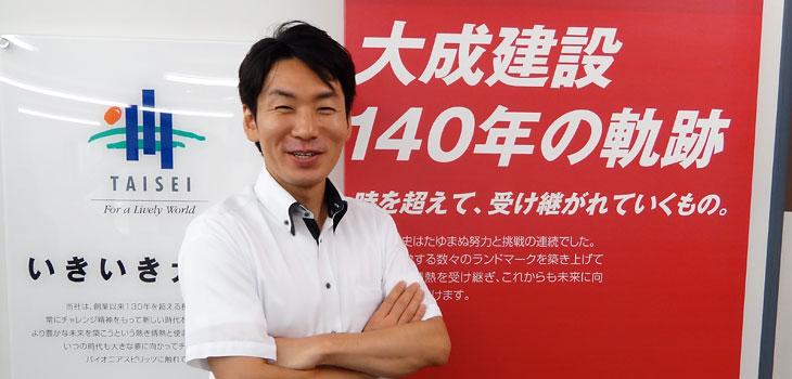 大成建設株式会社/北詰高太郎氏 肖像