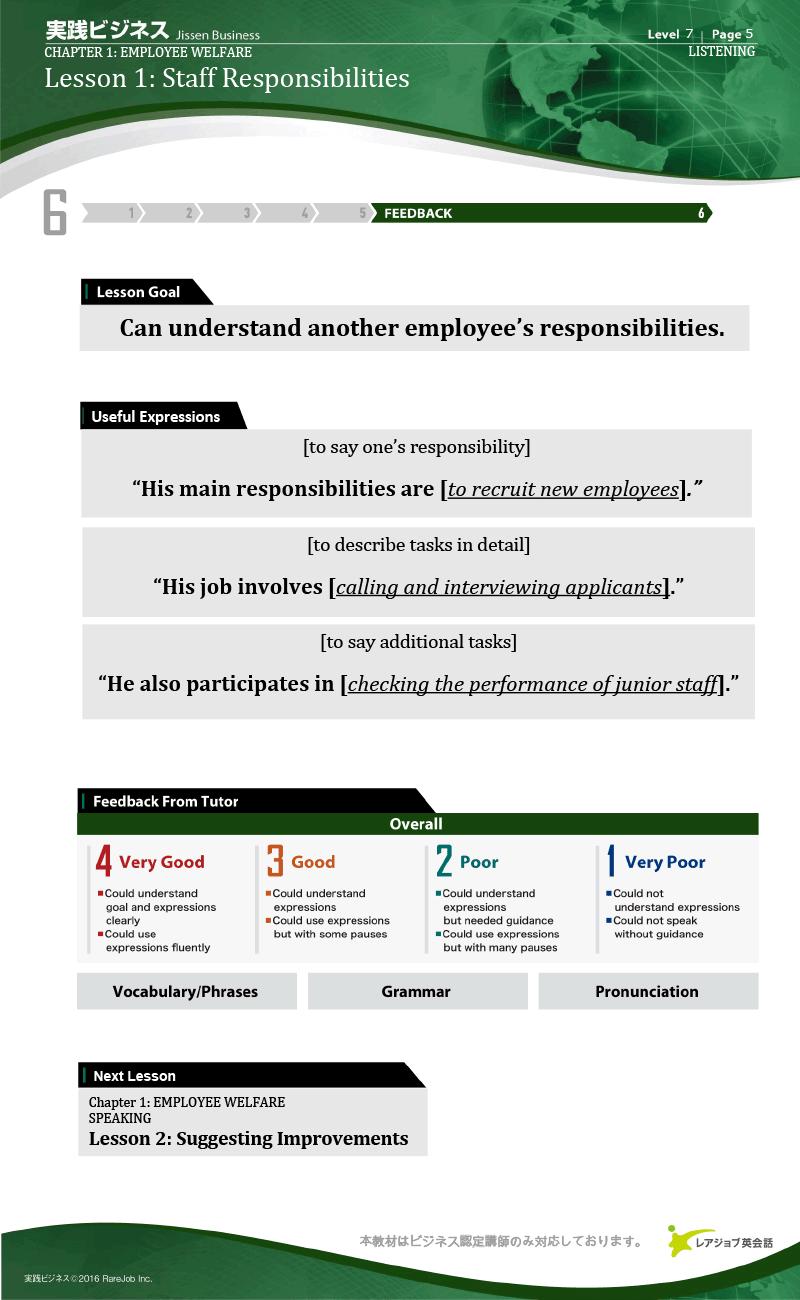 実践ビジネス レベル7 サンプル