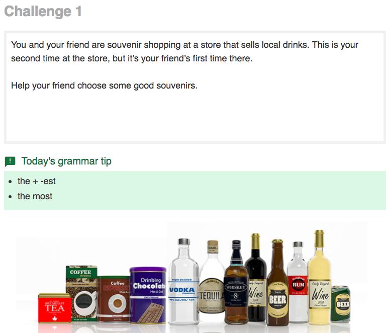実用英会話レベル3 Challenge 1