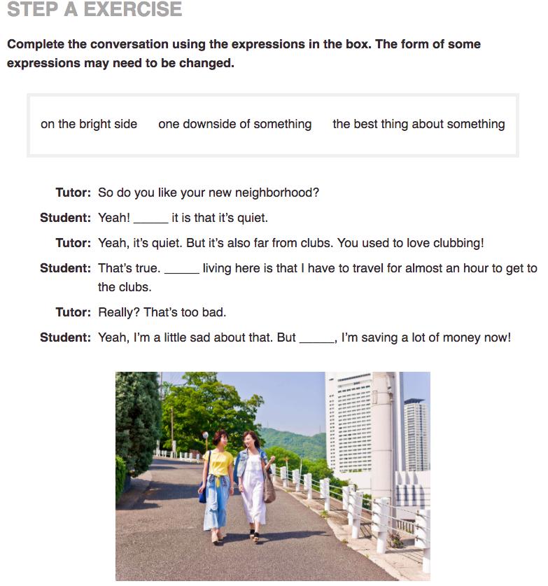 実用英会話レベル6 Practice A
