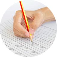 オンライン英会話のマンツーマンレッスンを通じて、4技能:書くを強化します。