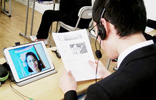 iPadによる授業の様子