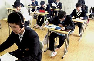 旭川明成高校 授業風景