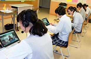千代田女学園中学校・高等学校 授業風景