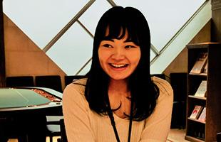 羽田茉央里さん 英語コミュニケーション科2年生