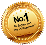 Number One in Japan and the Philippines